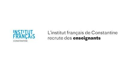 L'Institut français recrute des enseignants