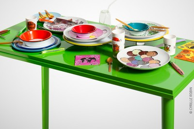 TABLEAUX - TABLES :  Les arts de la table, design et savoir-­faire traditionnel