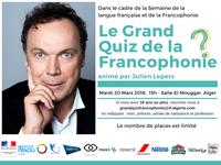 LE GRAND QUIZ DE LA FRANCOPHONIE