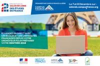 2 ème édition du Salon en ligne des études en France