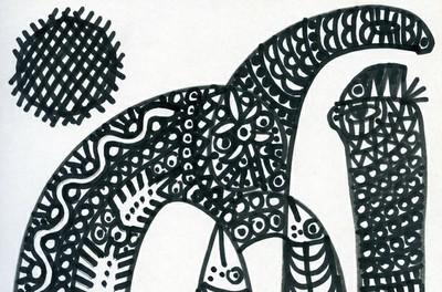 La calligraphie par l'absurde de Mourad Belmekki