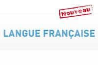 """Lancement du site """"Langue française"""""""