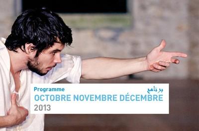 Programme Octobre Novembre Décembre