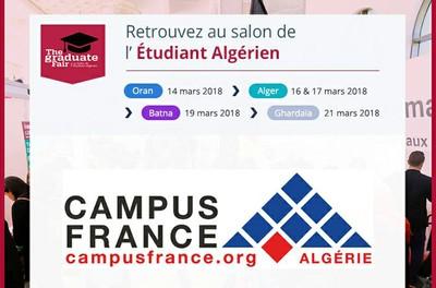 Salon de l'étudiant algérien - mars 2018