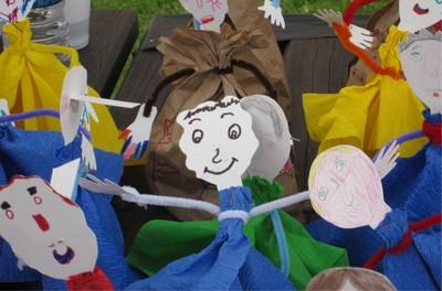 Atelier marionnettes et environnement