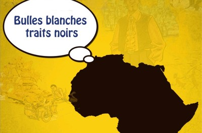 Bulles blanches traits noirs