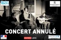 Concert Annulé : Brady Winterstein Trio