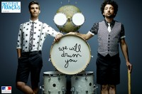 PITCH DES FILLS MONKEY – WE WILL DRUM YOU