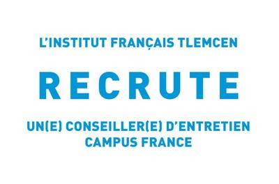 Recrutement d'un(e) Conseiller(e) d'entretien  Campus France