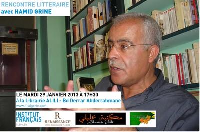 Rencontre Littéraire avec Hamid Grine